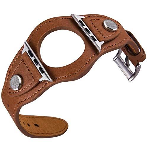 Correa para Apple Watch 5 Band 44 Mm 40mm Brazalete de cuero Pulsera Banda de reloj para IWatch Band 42mm / 38mm Correa para Apple Watch Series 5 4 3 2