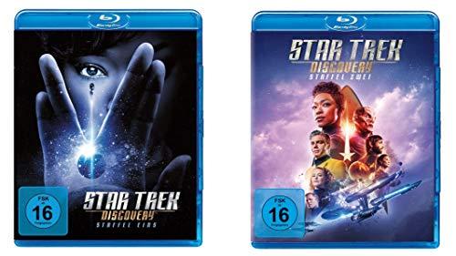 Star Trek - Discovery - Staffel 1 + 2 im Set - Deutsche Originalware [8 Blu-rays]