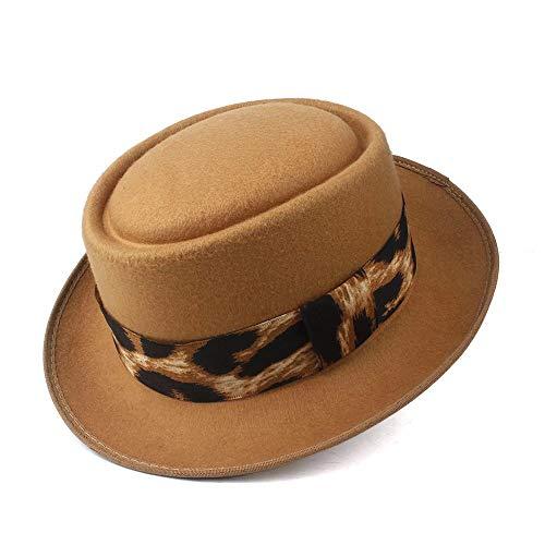 Moda Porkpie Sombrero Pork Pie Hat Moda sombrero de Fedora for los...