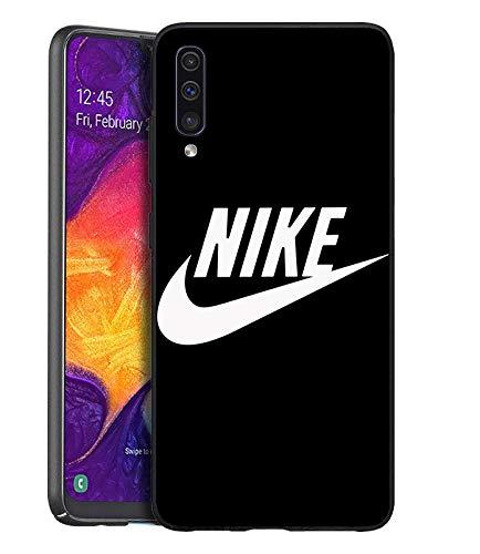 Just Do It Logo Schutzhülle Samsung Galaxy A50 Hülles, Nik Hülle Handyhülle für Samsung Galaxy A50, Hülle Cover für Samsung Galaxy A50 - Schwarz