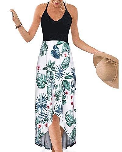DURINM Vestido de Playa - Camisola y Pareo para Cubrir Bikini Traje de Baño Mujer Pareos y Camisola de Playa Sexy Traje de Baño Bikini Cover up