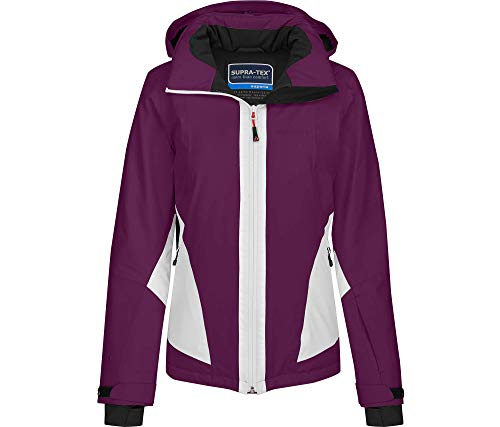 Bergson Damen Skijacke MIZAR, Dark Purple [483], 19 - Damen