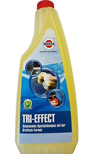 MAKRA Tri-Effect Spezialshampoo mit Dreifach-Formel 1 l Autoshampoo Lackpflege