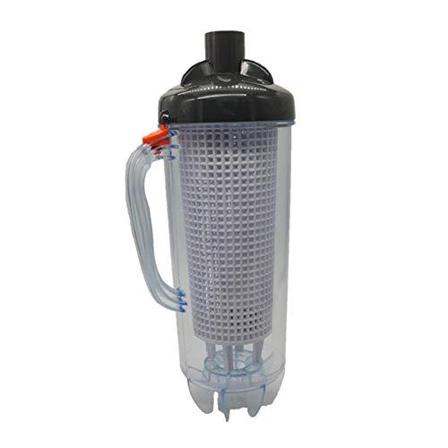 MTAPH Leaf Canister - Atrapador de hojas para piscina, profesional, para Zodiac Baracuda, Pentair, se adapta a aspiradora automática de piscina, ahorra tiempo (45 x 15,5 cm)