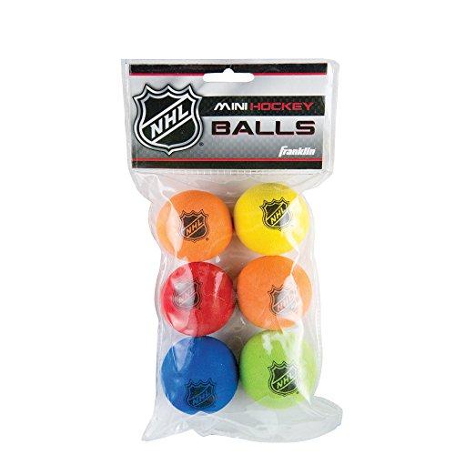 Franklin Sports NHL Schaumstoff Mini Hockey-Kugeln, 6Zählen