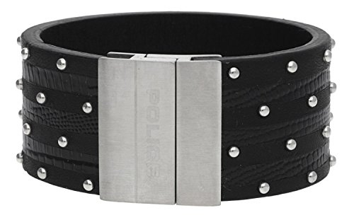 Police, Armband Avenger, PJ21872BLB/01, Länge: ca. 20 cm, Gewicht: ca. 40 g, Lederarmband