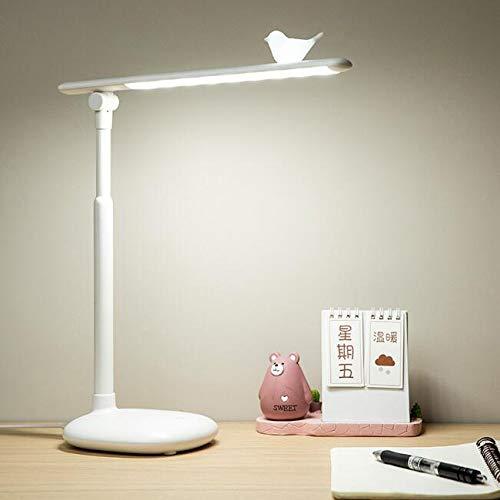 Smotly Led-tafellamp, vogel, decoratie, klaptafellamp, oogbescherming, student, lade, slaapkamer, instelling, bureaulamp, leeslamp