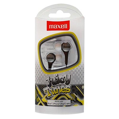 Maxell Juicy Tunes In-Ear Kophörer (3,5 mm Klinkenstecker) Silber