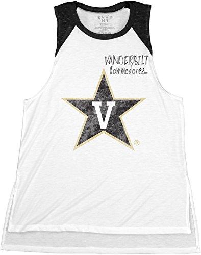 NCAA Vanderbilt Commodores Confetti Muscle Tank Top, Black, Large
