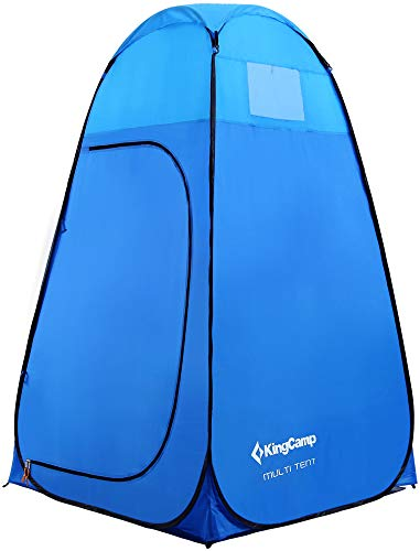 KingCamp multifunctionele tent, 450 mm, waterdicht, toilet, garderobe, voor picknick, camping, strand