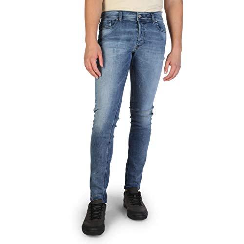 Diesel Jeans, Pantaloni in Jeans Uomo Blu (Sleenker_L32_00S7VG)