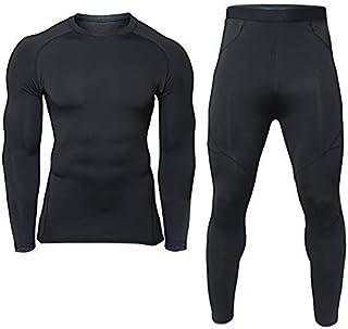 generies brand Men's Thermal Underwear Sets Compression Winter Base Layer Warm Top & Bottom Ultra Soft Gear Sport Long Joh...