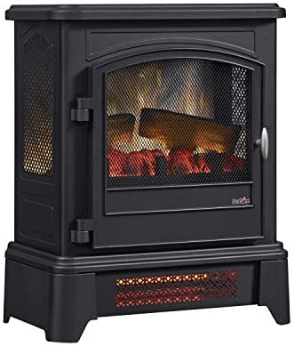 duraflame Infrared Quartz Electric Stove Heater with Pedestal Base product image