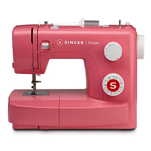 Singer Simple 3223 85-Watt Automatic Sewing Machine (Pink)
