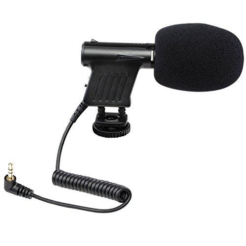 Ritz Gear Shotgun Microphone for Canon, Nikon, Sony DSLR Cameras