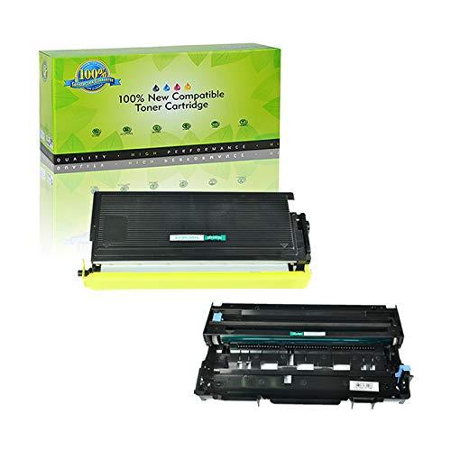 NineLeaf Compatible Toner Cartridge & Drum Unit Replacements for TN-560 TN560 High Yield & DR-500 DR500 DCP-8020 D/8025D HL-1650/1850/5040/5050 MFC-8420/8820/8820DN (1 Toner 1 Drum, 2 Pack)