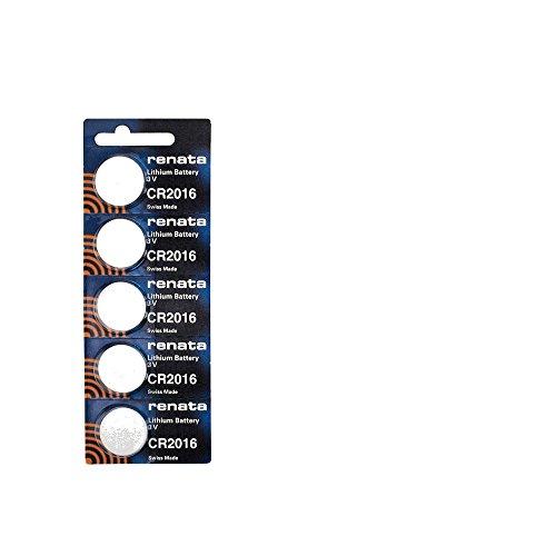 Batterien Lithium CR2016 Renata Schweizer PKG/5 Typ