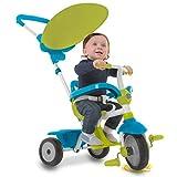 smarTrike Zip tricycle bébé évolutif 3 en 1, Bleu et Vert