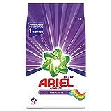 Ariel Waschmittel Pulver Waschpulver, Color Waschmittel, 18 Waschladungen, Compact, Farbsc...