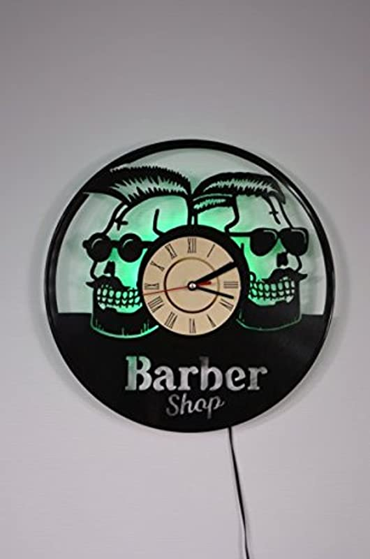 Barber Shop Ornament Wall Light Night Light Function Car Original Home Interior Decor Wall Lamp Perfect Gift Green