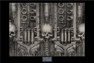HR GIGER POSTER landshaft XIX RARE HOT NEW 24x36