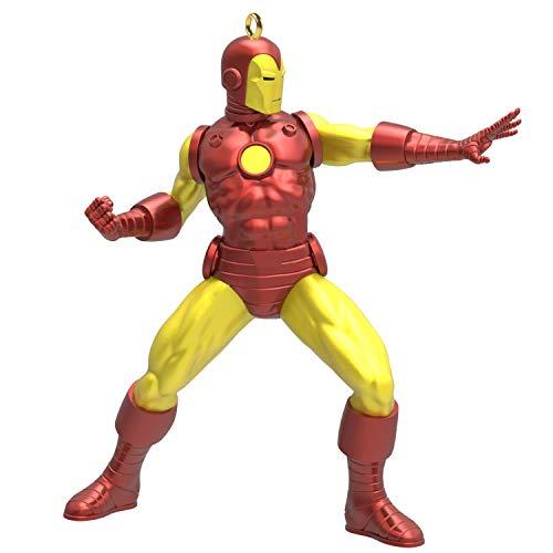 Hallmark Keepsake Christmas Ornament 2019 Year Dated Marvel Iron Man, Metal