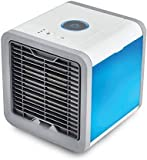 Vaidehi Air Personal Space Coolers Multipurpose 3-in-1 Portable Mini Air Cooler Humidifier & Purifier with 3 Speeds and 7 Colors LED Lights for Bedroom Home Office (Air Cooler)