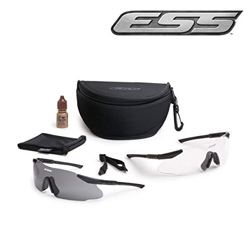 ESS Military Issue ICE 2X Custom Fit Frameless Eye Protection