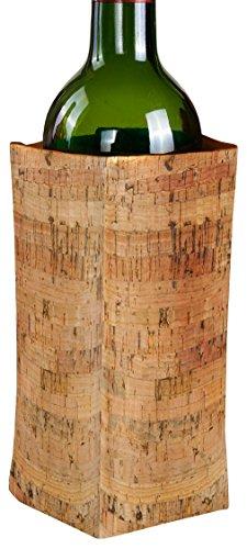 Vin Bouquet Funda enfriadora, Corcho, 14.5 x 20 x 2.5 cm