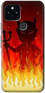 JP3385PX5 悪魔ファイアーバーン Devil Fire Burn Google Pixel 5 ケース