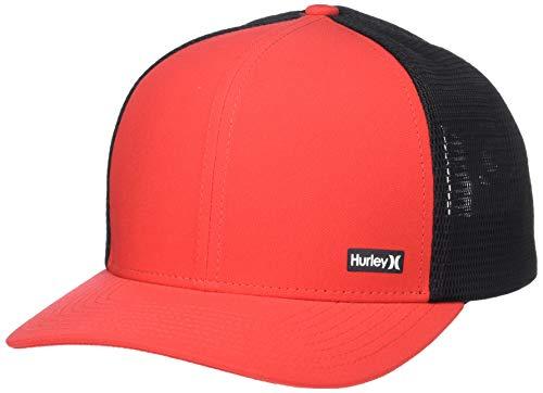 Hurley Men's League Dri-Fit Snapback Baseball Cap, University red, Qty