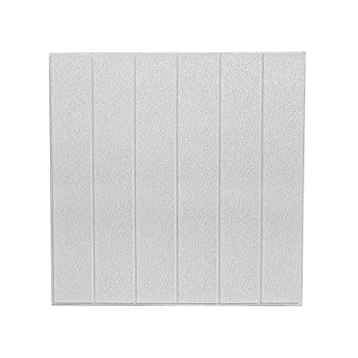 【Dimensión】 PE espuma de algodón ambiental, Tamaño de la etiqueta de la pared: 23.5 pulgadas * 23.5 pulgadas (1 PCS),10 pieza/set. Tamaño del paquete: 60CM * 30CM Embalaje plegable. 【Materiales ecológicos】 el papel pintado con efecto madera está hech...