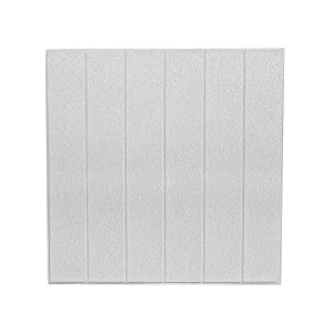 3D Paneles de la Pared,DIY Imitación Madera Grano Autoadhesivo Impermeable Papel Pintado 23.5inch*23.5inch(10 PCS)