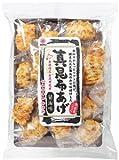 高級米菓 国産米100%使用 真昆布あげ 醤油味 18個×6袋 [化学調味料無添加] 越後製菓 新潟 お菓子人気 米菓