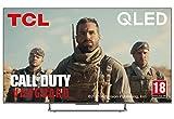 TCL 55C727 4K QLED Gaming Fernseher 55 Zoll Smart TV (Quantom Dot, 100% Farbvolumen, 100Hz MEMC,...