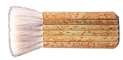 Creative Hobbies 1 7/8' Hake Blender Brush for Watercolor, Wash, Ceramic & Pottery Painting