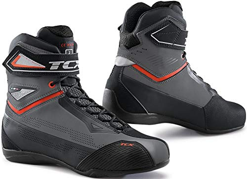 TCX 9507 RUSH 2 GRRO GREY/RED 44