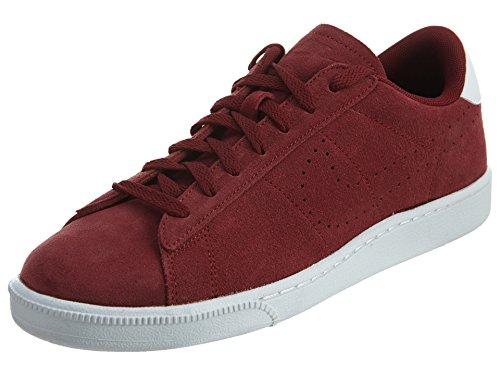 Nike Tennis Classic CS Suede, Zapatillas de Tenis Hombre, Rojo (Team Red/Team Red-White), 42