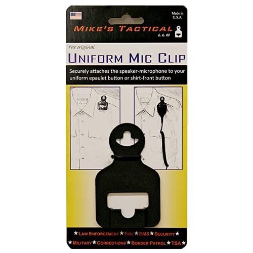 Uniform Mic Clip - Microphone Retention Device
