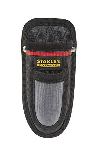 Stanley FatMax Messerholster (600 Denier Polyester, schnittfeste Innenseiten, Gürtelclip, Zusatzfach) 0-10-028