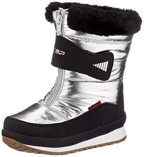 CMP Baby EHOS Snow Boot WP, Scarpone da Neve Bambina, Silver, 30 EU