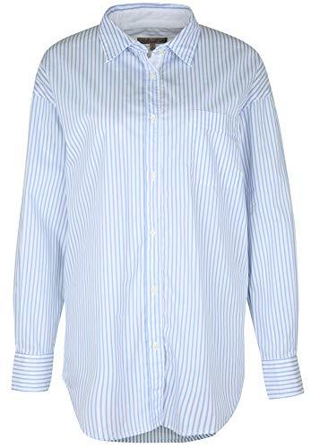 Blaumax Sharon Fast, Camicia Donna, Multicolore (Light Blue Stripe 8114), Taglia produttore S