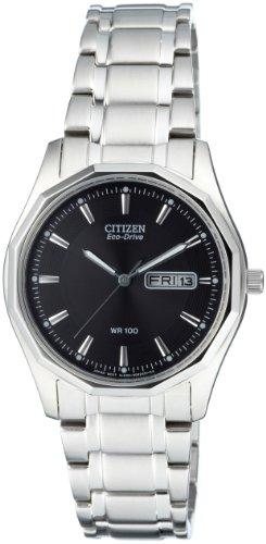 Citizen Herren Analog Quarz Uhr mit Edelstahl Armband BM8430-59EE