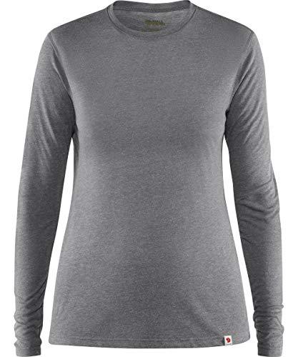 FJALLRAVEN Damen High Coast Lite Top Ls W Sweatshirts, Shark Grey, L