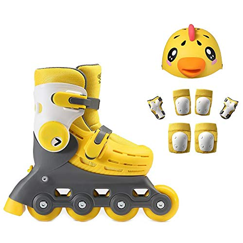 Best Price YUMEIGE Roller Skates Quad Roller Skates, Integrated Tool Rest、5 Yards Adjustment、Rol...