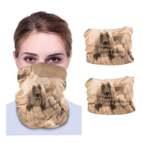 Hound Variety face Towel Multifunctional Headband Bandana Sport Snood Elastic Neck Gaiters UV Resistence Balaclava Tube for Running Cycling Outdoors