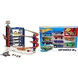 Hot Wheels Super Ultimate Garage, Parking de Coches de Juguete Niños +5 Años + Pack de 10 vehículos, Coches de Juguete