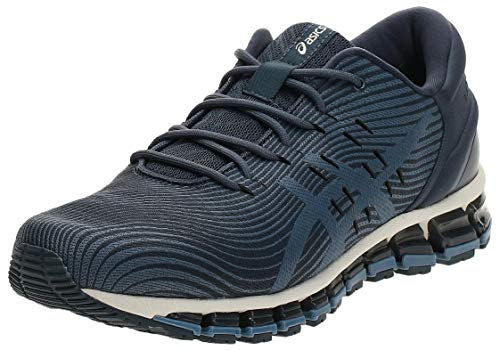 ASICS Herren Gel-Quantum 360 4 Walking-Schuh, Tarmac/Steel Blue, 42 EU