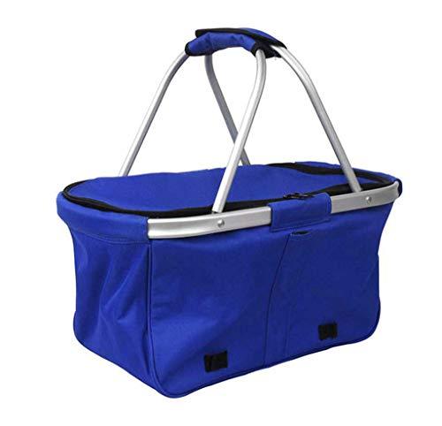 Picnic Basket Folding Green Ice Pack Oxford Cloth Ice Pack New Picnic Fashion Ice Bag Picnic Hamper