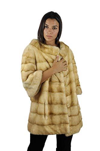 Zerimar Giacca Visone Pellicce | Giacca Donna | Giacca Donna Pelliccia | Giacca Donna Elegante | Cappotto | Cappotto Donna | Cappotto Donna Pelliccia | Cappotto Elegante Donna